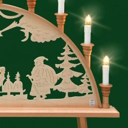 Detail Schwibbogen Weihnachten, 67cm