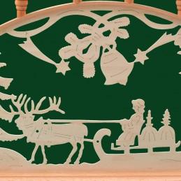 Detail Schwibbogen Weihnachten, 82 cm