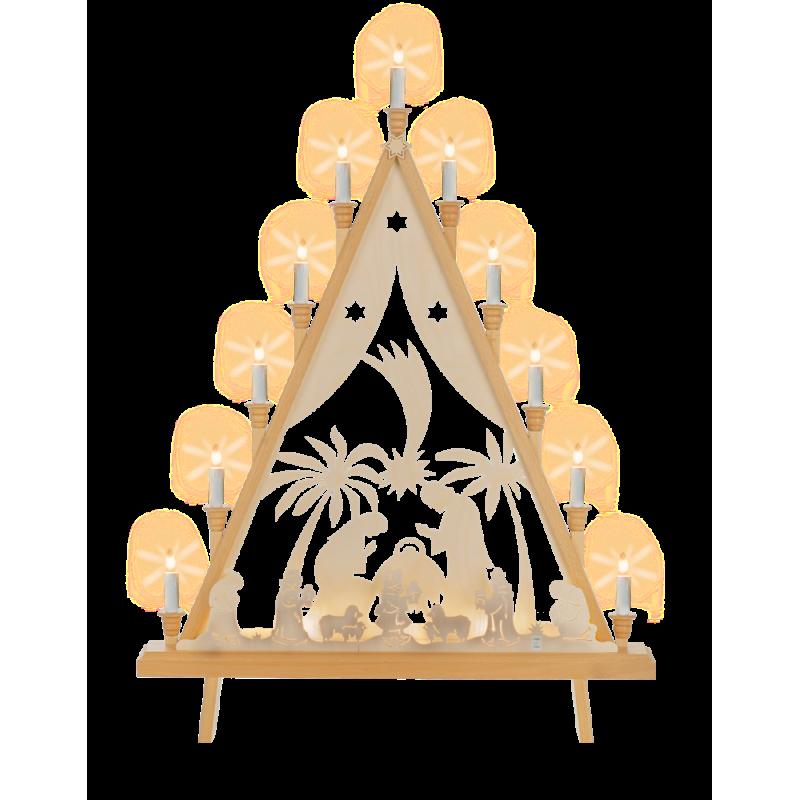 Lichterecke Krippe, 60 cm
