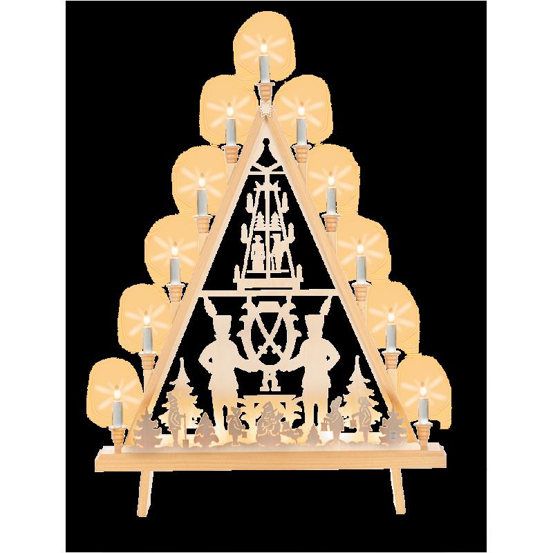 Lichterecke Johann-Georgen-Städter, 60 cm